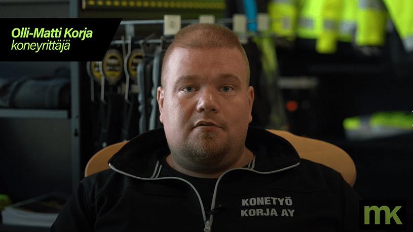 Ylä-Kainuussa yhteistyössä Konetyö Korjan kanssa