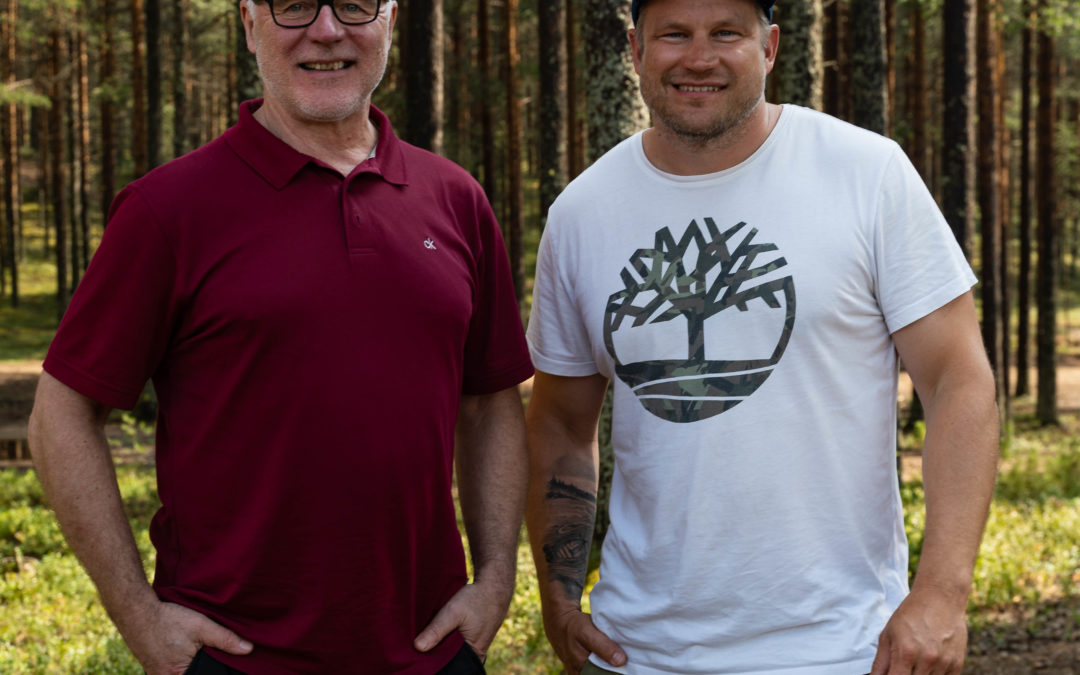 Työelämän asiantuntija ja coach Metsät Kuntoon-asiantuntijoiden tukena